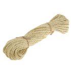 Верёвка сизалевая кручёная  5 мм (20 м)