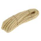 Верёвка сизалевая кручёная 10 мм (10 м)