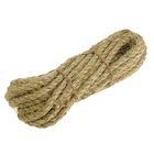 Верёвка сизалевая кручёная 12 мм (10 м)