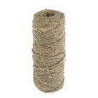 Верёвка упаковочная пеньковая, кручёная 1,5 мм (40 м)
