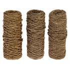 Набор веревок упаковочных пеньковых крученых 1,5 мм (3х40 м)