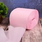 Лента капроновая, 100 мм, 100 ± 1 м, цвет розовый