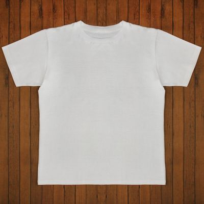 Футболка мужская цвет белый, р-р 46