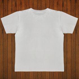 Футболка мужская цвет белый, р-р 56