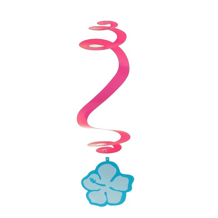 """Спираль """"Цветы"""" (набор 3 шт.), цвета МИКС"""