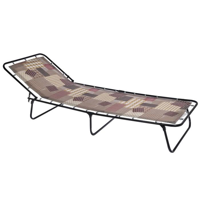 Кровать раскладная 195х65х26 см, до 80 кг