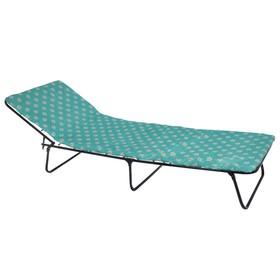 Кровать раскладная 195х65х26 см, матрас 2 см, МИКС Ош