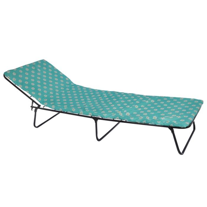 Кровать раскладная 195х65х26 см, матрас 2 см