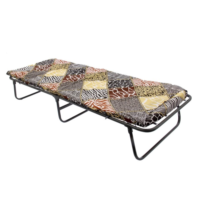 Кровать-тумба раскладная и матрас 190х70х34 см, до 120 кг