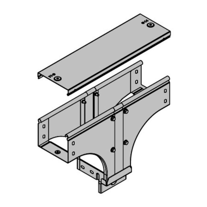 """Крышка """"ДКС"""" 38322, на ответвитель Т-образный вертикальный TD/TDSR, основание 100 мм"""