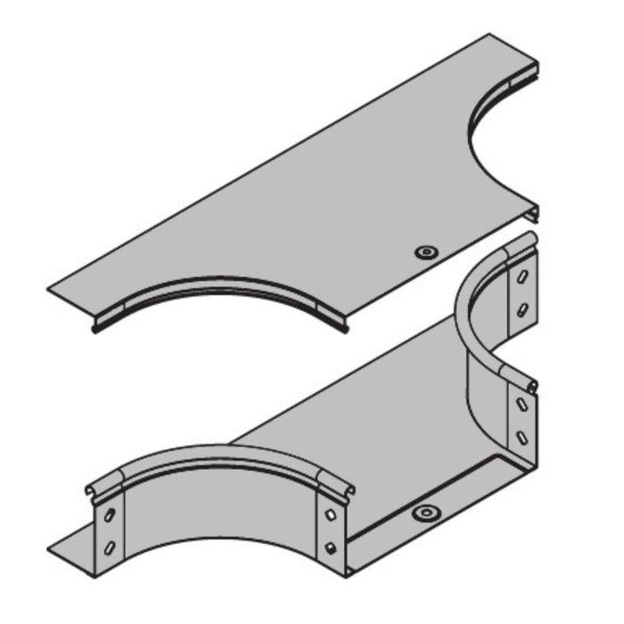 """Крышка """"ДКС"""" 38365, на ответвитель горизонтальный DL, основание 200 мм"""
