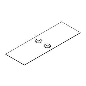 """Накладка """"ДКС"""" 37352 соединительная CGB, для лотка, основание 100 мм"""