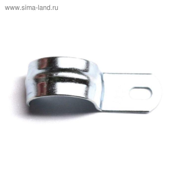 "Скоба ""ДКС"" 53339 металлическая, оцинкованная, однолапчатая d=10-11мм"