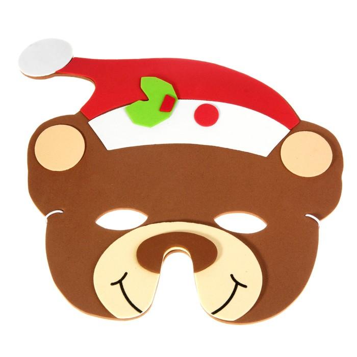 """Карнавальная маска """"Медведь"""""""