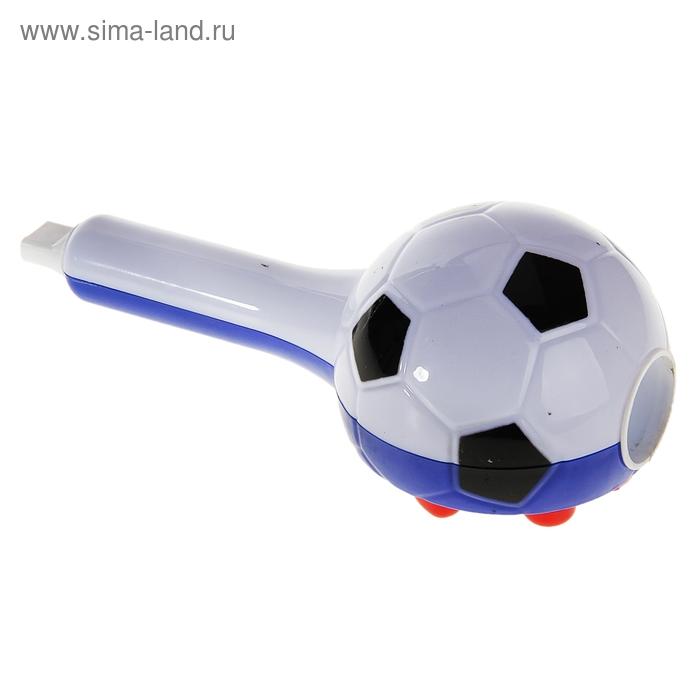 """Свисток-трещотка световой """"Футбольный мяч"""""""