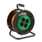 The coils TUNDRA, 4 outlets, 25 m, 6A, PVS 2x0.75 without z/K, GOST