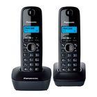 Радиотелефон Dect Panasonic KX-TG1612RUH темно-серый, АОН