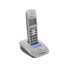 Радиотелефон Dect Panasonic KX-TG2511RUN платиновый/чёрный, АОН