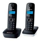 Радиотелефон Dect Panasonic KX-TG1612RU1 темно-серый/белый, АОН