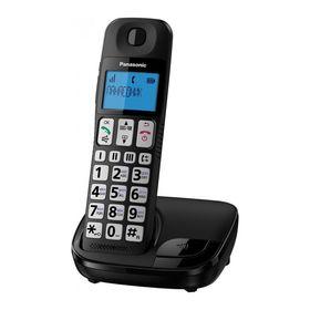 Радиотелефон Dect Panasonic KX-TGE110RUB чёрный, АОН