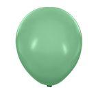 """Шары латексные 12"""", пастель, набор 100 шт., цвет зелёный"""