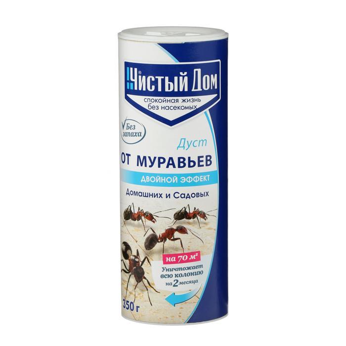 Средство от муравьев Чистый Дом Дуст, туба, 350 г