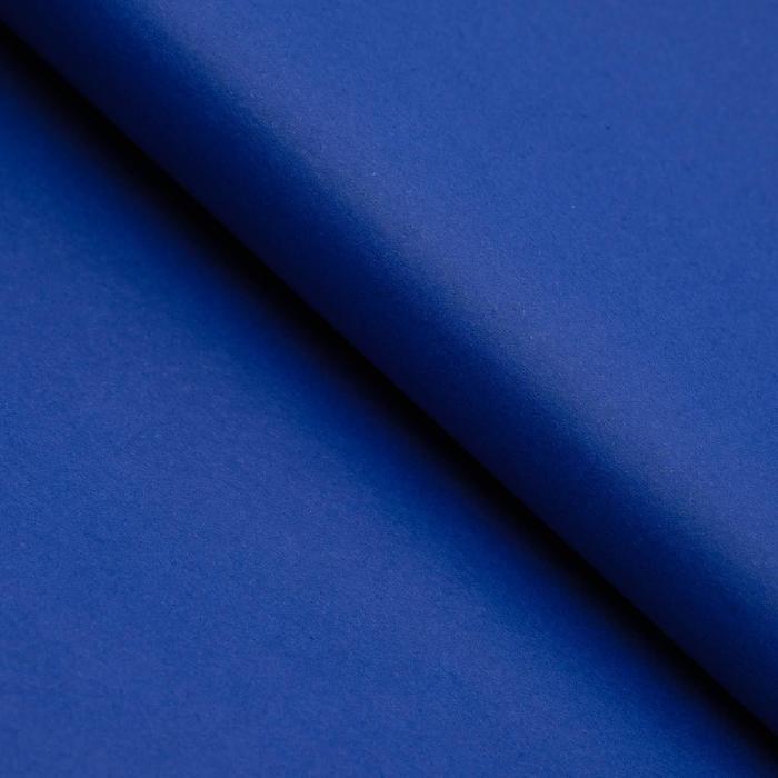 Бумага цветная Тишью (шёлковая) 510*760 мм Sadipal 1 л 17 г/м2 тёмно-синий 11131