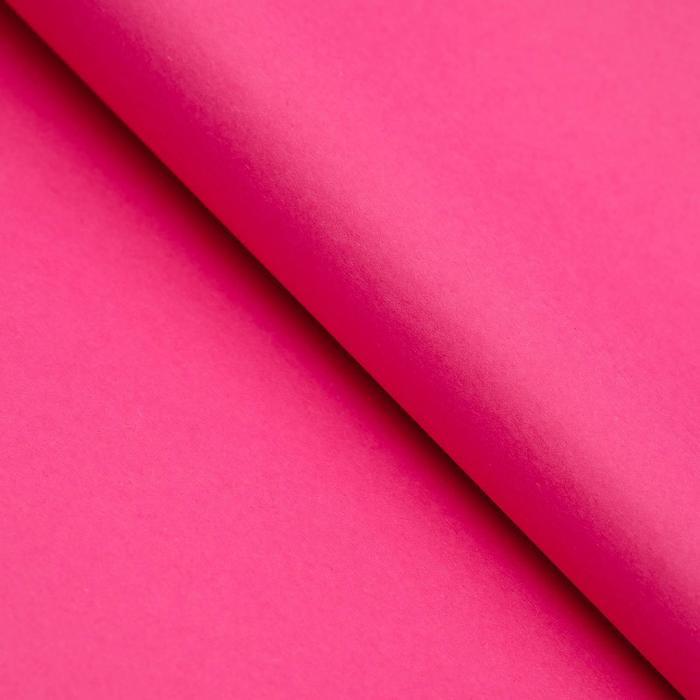 Бумага цветная Тишью (шёлковая) 510*760 мм Sadipal 1 л 17 г/м2 тёмно-розовый 11135