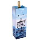 Пакет ламинированный под бутылку «Настоящему мужчине», 13 х 36 х 10 см