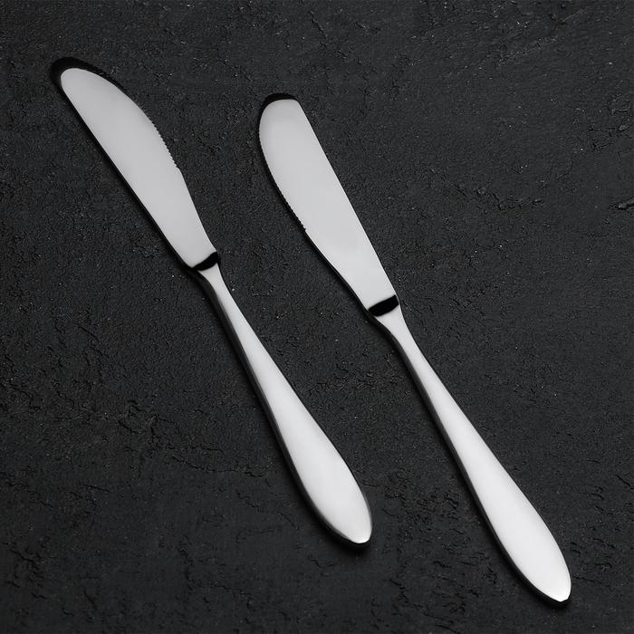 Нож столовый «Европейский стиль», толщина 4 мм