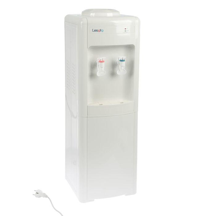 Кулер для воды LESOTO 16 LK white, только нагрев, 500 Вт, белый