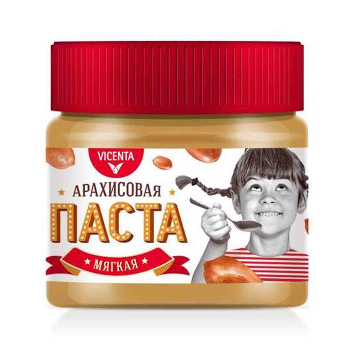 Паста арахисовая Vicenta мягкая 250гр