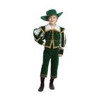 """Карнавальный костюм """"Лорд"""", бархат, р.32, рост 122 см"""