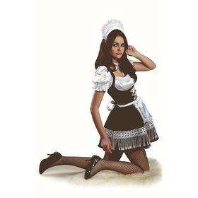Карнавальный костюм «Горничная», размер 44