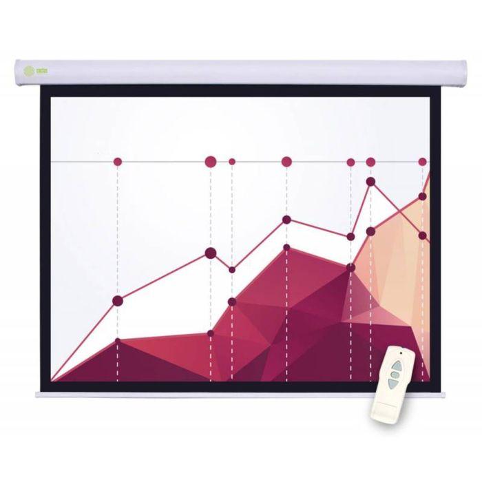 Экран Cactus 183x244 Motoscreen CS-PSM-183x244 4:3, настенно-потолочный, рулонный