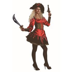 Карнавальный костюм «Пиратка», р. 46, рост 170 см