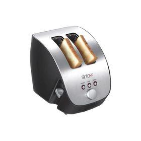 Тостер Sinbo ST 2415,  1000 Вт, 2 тоста, серебристый