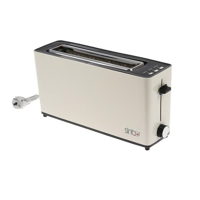Тостер Sinbo ST 2423, 900 Вт, 5 степеней обжарки, белый
