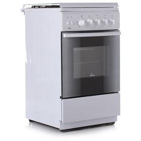 Плита газовая Flama FG 2424 W, 4 конфорки, 50 л, газовая духовка, белый