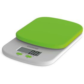 Весы кухонные Starwind SSK2155, электронные, до 2 кг, зелёные