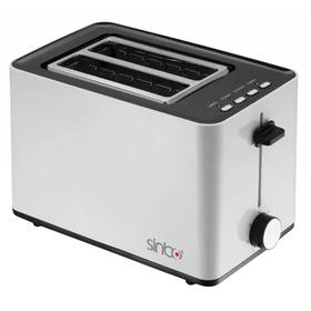 Тостер Sinbo ST 2418 850Вт белый/чёрный