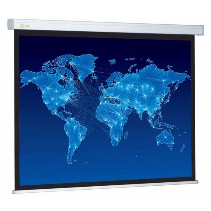 Экран Cactus 152x203 Wallscreen CS-PSW-152x203 4:3, настенно-потолочный, рулонный