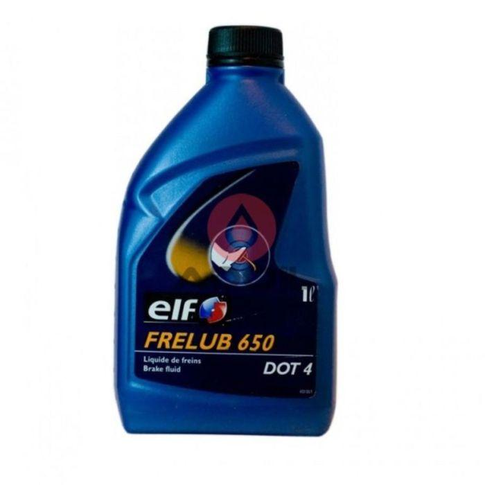 Тормозная жидкость Elf Frelub 650 DOT 4, 1л