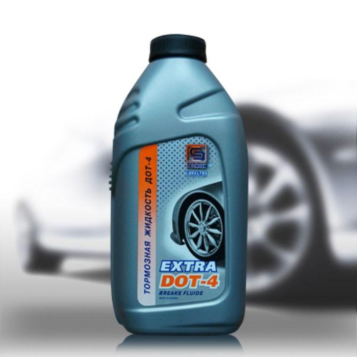 """Тормозная жидкость """"Промпэк"""" Дот-4 EXTRA, 455г"""