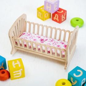 Кроватка-качалка малая
