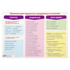 """Training poster A2 """"Spelling of prepositions and prepositional combinations"""""""