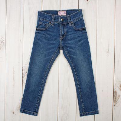 """Джинсы для девочки """"ROVELLO"""", рост 92 см, цвет синий 4051 С"""