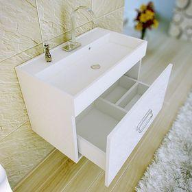 Комплект мебели Aqwella TEMPO 70, подвесной, тумба с раковиной Conform 700