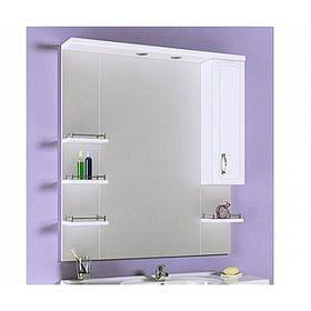 Зеркало-шкаф Aqwella CHARISMA, с подсветкой Kh.02.10