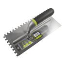 Гладилка ARMERO, 280х130 мм, зуб 6х6 мм, нержавеющая сталь